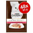 Ekonomično pakiranje: Gourmet A la Carte 48 x 85 g