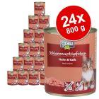 Ekonomično pakiranje Grau Gourmet bez žitarica  24 x 800 g