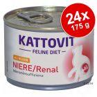 Ekonomično pakiranje Kattovit Niere/Renal 24 x 175 g