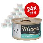 Ekonomično pakiranje Miamor Pastete 24 x 85 g
