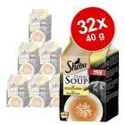 Ekonomično pakiranje Sheba Classic Soup vrećice 32 x 40 g