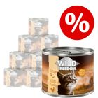 Ekonomično pakiranje Wild Freedom Kitten 12 x 200 g