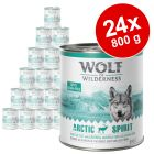 Ekonomično pakiranje: Wolf of Wilderness 24 x 800 g