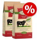 Ekonomično pakiranje: 2x10 kg / 15 kg Lukullus hladno prešana hrana