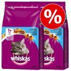 Ekonomično pakiranje: 2 x 3,8 kg Whiskas