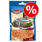 Ekonomipack: 3 x 50 g Trixie Premio Chicken Filet