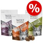 Ekonomipack: 3 x 180 g Wolf of Wilderness - Wild Bites Snacks