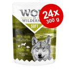 Ekonomipack: 24 x 300 g Wolf of Wilderness