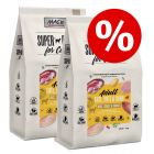 Ekonomipack: 2 x 7 kg MAC's Superfood for Cats torrfoder