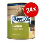 Ekonomipack: Happy Dog pure 24 x 800 g