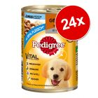 Ekonomipack: Pedigree Junior Classic 24 x 400 g