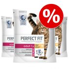 Ekonomipack: Perfect Fit  kattfoder till sparpris!