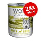 Ekonomipack: Wolf of Wilderness 24 x 800 g