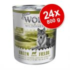 Ekonomipack: Wolf of Wilderness Senior 24 x 800 g