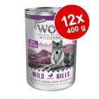 Ekonomipack: Wolf of Wilderness Senior 12 x 400 g