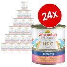 Ekonomipack: Almo Nature Classic 24 x  280 g / 290 g