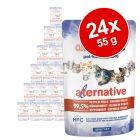 Ekonomipack: Almo Nature HFC Alternative Cat 24 x 55 g