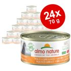 Ekonomipack: Almo Nature HFC Natural Made in Italy 24 x 70 g