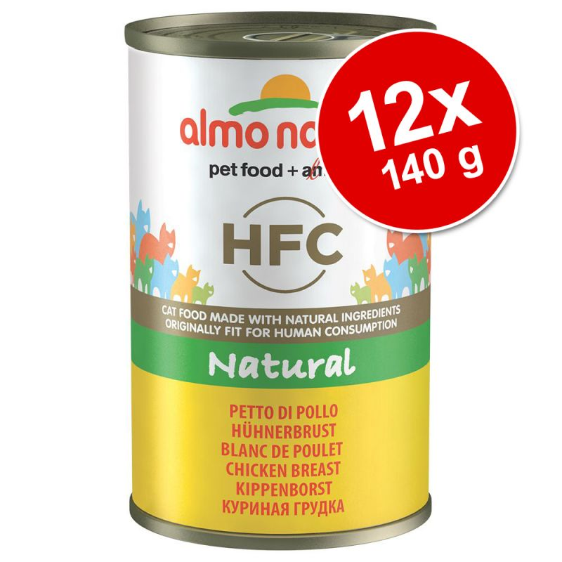 Ekonomipack: Almo Nature HFC 12 x 140 g