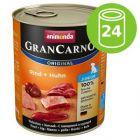 Ekonomipack: Animonda GranCarno Original Junior 24 x 800 g