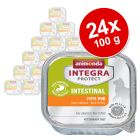 Ekonomipack: Animonda Integra Protect Adult Intestinal 24 x 100 g portionsform