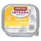 Ekonomipack: Animonda Integra Protect Adult Sensitive 12 x 100 g portionsform
