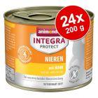 Ekonomipack: Animonda Integra Protect Adult 24 x 200 g konservburk