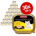 Ekonomipack: Animonda vom Feinsten för kastrerade katter 36 x 100 g
