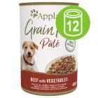 Ekonomipack: Applaws Grain Free Paté 12 x 400 g