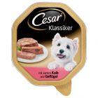 Ekonomipack: Cesar 56 x 150 g portionsform