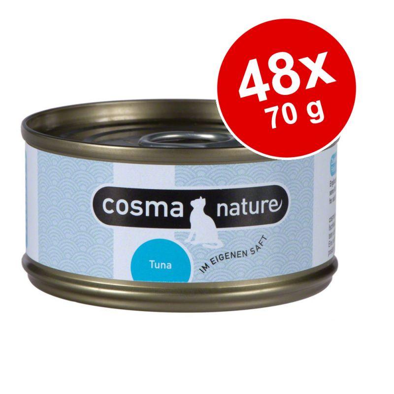 Ekonomipack: Cosma Nature 48 x 70 g