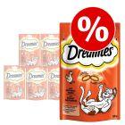 Ekonomipack: Dreamies Cat Treats 6 x 60 g