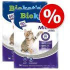 Ekonomipack: 2 eller 3 påsar Biokat's kattsand till sparpris