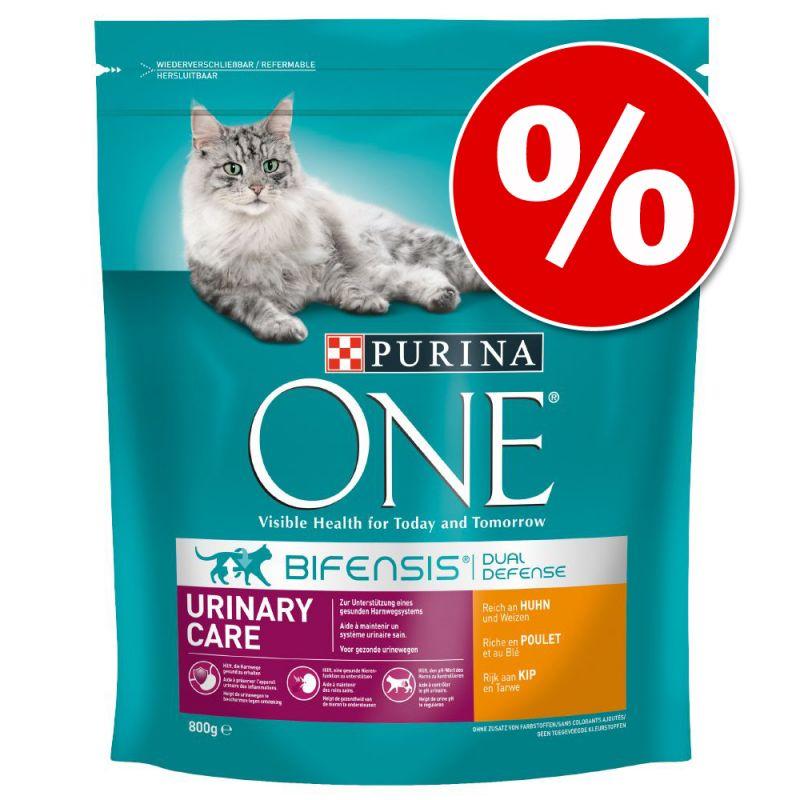 Ekonomipack: 2, 3 eller 6 påsar Purina ONE kattfoder