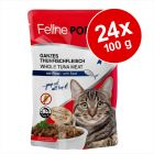 Ekonomipack: Feline Porta 21 portionspåsar 24 x 100 g