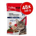 Ekonomipack: Feline Porta 21 portionspåsar 48 x 100 g