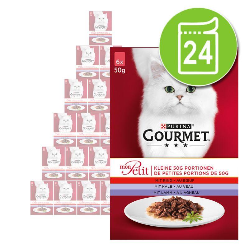 Ekonomipack: Gourmet Mon Petit 24 x 50 g