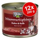 Ekonomipack: Grau Gourmet spannmålsfritt 12 x 200 g