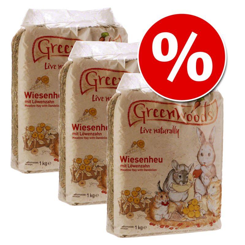 Ekonomipack: Greenwoods ängshö 3 / 10 kg