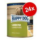 Ekonomipack: Happy Dog pure 24 x 800 g