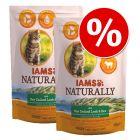Ekonomipack: IAMS Naturally Cat Adult 2 x 2,7 kg