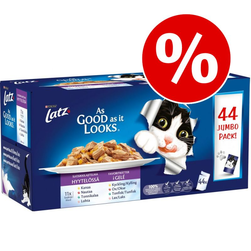 "Ekonomipack: Latz ""As good as it looks"" 44 x 100 g"