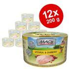 Ekonomipack: MAC's Cat kattfoder 12 x 200 g