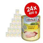 Ekonomipack: MAC's Cat kattfoder 24 x 400 g