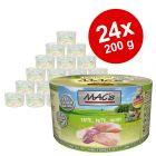 Ekonomipack: MAC's Cat kattfoder 24 x 200 g