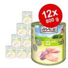 Ekonomipack: MAC's Cat våtfoder 12 x 800 g