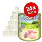 Ekonomipack: MAC's Cat våtfoder 24 x 800 g