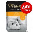 Ekonomipack: Miamor Ragout Royale i gelé 44 x 100 g