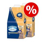 Ekonomipack: 2/3 påsar Catsan kattsand till lågt pris!