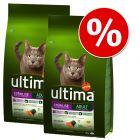 Ekonomipack: 2 / 3 påsar Ultima Cat Adult till lågt pris!